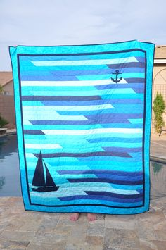 The Jellyroll Race Quilt