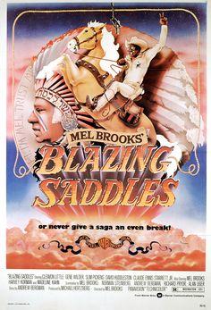 Remember this poster? #BlazingSaddles #MelBrooks #tbt