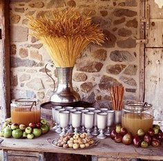 Autumn is here! Rustic Thanksgiving