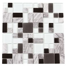 "You'll love the Paragon 12"" x 12"" Glass Mosaic Tile in Delorean Multi at Wayfair - Great Deals on all Home Improvement products with Free Shipping on most stuff, even the big stuff."