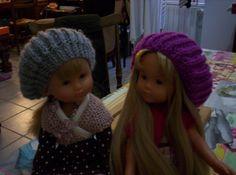 Tuto pour bonnet pour Les Chéries - free knitting pattern for a beret