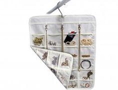 Cabide organizador de acessórios e bijuterias - Duplo