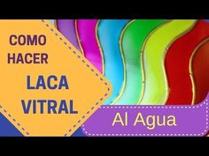 Como Hacer tu Propia Laca Vitral al Agua - Parte 2 - YouTube Easy Diy Crafts, Diy Arts And Crafts, Crafts For Kids, Mixed Media Journal, Journal Covers, Cold Porcelain, Diy Projects To Try, Diy Painting, Crafty