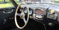Pristine dashboard of 1955 356 Continental