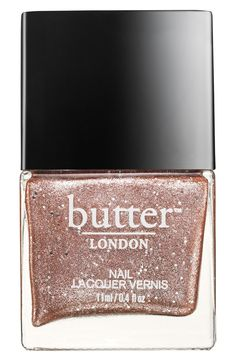 Go Metallic with this nail lacquer from Butter London.