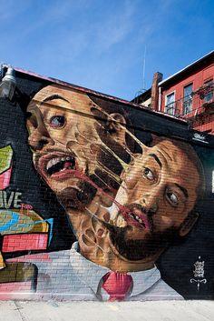 d0615f647 Dasic Fernandez Sidewalk Art, Amazing Street Art, Outdoor Art, Interesting  Photos, Street
