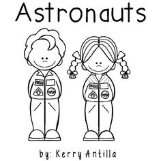 *FREE* Astronaut Mini-Book K-2