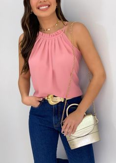 Bright Summer Outfits, Girls Summer Outfits, Look Fashion, Fashion Outfits, Womens Fashion, Fashion Design, Classy Outfits, Cute Outfits, Latest Tops