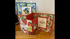 Stampin' Up! Sweet Strawberry Thank You Card Stampin' in
