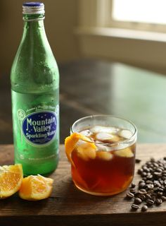 Make your own iced coffee soda