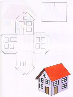 Maquete Casa Dois Andares Paper ToysPaper HousesPapercraft TruckSearchTrialsCasetteEasy