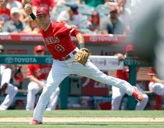 Taylor Featherston, Los Angeles Angels