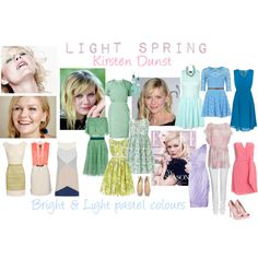 LIGHT SPRING: Kirsten Dunst by littlemonster189 on Polyvore featuring Antonio Marras, River Island, Minuet Petite, Joe Browns, Acne Studios, Giambattista Valli, Topshop, Zimmermann, Jil Sander and Zac Posen