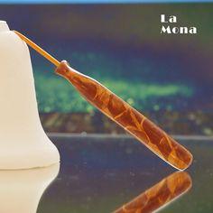 """Háček s """"kouzelnou"""" ručkou LaMona, velikost 3,0 mm #hackovani #haceksruckou #lamona #hacekskouzelnouruckou #crochet #hook"""