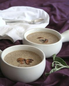 Low Carb Brown Butter Mushroom Soup Recipe | All Day I Dream About Food