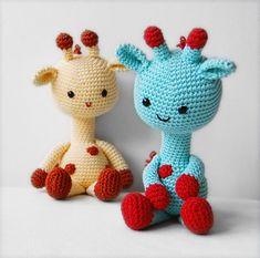 Amigurumi Crochet Giraffe Pattern George the Giraffe by pepika