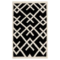 Add some great graphic design to your decor with the Safavieh Tangier Dhurry Area Rug. This indoor rug's multiple rich colors complement its cool linear design. The flat woven rug construction looks polished. The 100% wool material stands up to heavy traffic, kids and pets. The wool backing is gentle on floors. Use a rug pad to increase this rug's grip and stability. Vacuum regularly to keep this area rug looking sharp. Professional rug cleaning is recommended. Available in a ...