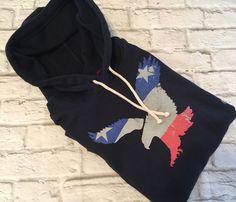 American Eagle Mens Navy Blue USA Patriotic Pullover Hoodie Sweatshirt Large L  #AmericanEagle #Hoodie