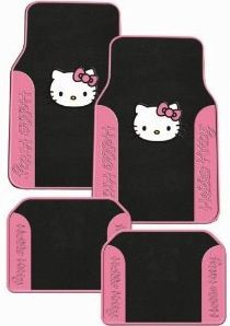 Hello Kitty Car Floor Mats