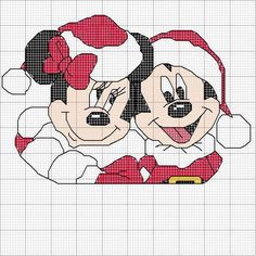 Minnie and Mickey Navidad