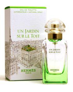 Hermes Un Jardin Sur Le Toit EDT Spray 1.7 Oz Made in France  Fragrance #JeanBeauty
