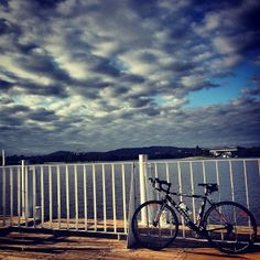 """Great photo by Jonnyday taken on an """"Amazing ride this morning as the sun came up. #visitcanberra"""""""