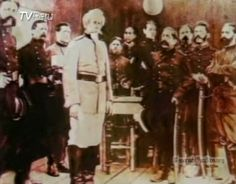 Batalla de Arica. Comandante Boloñesi con sus jefes antes de la batalla de Arica.