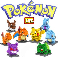 $18.04 (Buy here: https://alitems.com/g/1e8d114494ebda23ff8b16525dc3e8/?i=5&ulp=https%3A%2F%2Fwww.aliexpress.com%2Fitem%2FLOZ-Pokemon-Go-Figures-Model-Toys-Pikachu-Charmander-Bulbasaur-Squirtle-Mewtwochild-Eevee-Child-gift-9-Anime%2F32704600890.html ) 8p LOZ Pokemon Go Figures Model Toys Pikachu Charmander Bulbasaur Squirtle Mewtwochild Eevee Child gift 9+ Anime Building Blocks for just $18.04