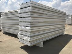Insulated panels used in cold, freezer room's blast freezers and construction industries of top quality materials that insure isolation robustness and modern. Insulated Panels, Roof Panels, Panel Systems, Cool Store, South Africa, Pride, Industrial, Construction