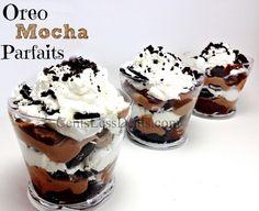 Oreo Mocha Parfaits recipe