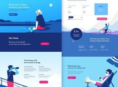 """2,436 Likes, 18 Comments - UI/ UX DESIGN INSPIRATION (@uidesignpatterns) on Instagram: """"Beautiful homepage  . . . Tag @uidesignpatterns in your designs and use #uidesignpatterns if you…"""""""