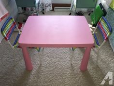 IKEA Kids table and two chairs for Sale in Medina, Ohio Classified | AmericanListed.com