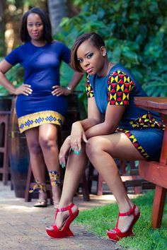 Feel free to choose these African women fashion styles and dresses from head to toe if you are really feeling them suitable for you. African dresses are one African Dresses For Women, African Print Dresses, African Attire, African Wear, African Fashion Dresses, African Women, African Prints, African Style, African Inspired Fashion