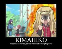 shugo funny | rikkaa better watch out... rima is gettind angry x3