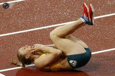 Sally Pearson has gold on 100m hurdles.