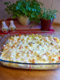 Cooking Recipes, Healthy Recipes, Frisk, Pasta Dishes, Macaroni And Cheese, Good Food, Food And Drink, Bread, Baking