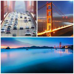 Puente Golden Gate. Golden Gate Bridge.