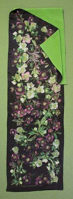 From my neighbor's garden. Scanner Photography By Ellen Hoverkamp — Lined Silk Hellebore Scarf Photo Texture, Texture Design, Botanical Prints, Order Prints, My Images, Note Cards, Fabric Design, Printing On Fabric, Design Inspiration