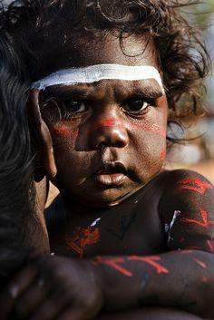 Fat Cheeked Aborigine Baby at Garma Festival 2008 by Cameron Herweynen Aboriginal History, Aboriginal Culture, Aboriginal People, Aboriginal Art, Aboriginal Children, Kids Around The World, We Are The World, People Around The World, Photo Portrait
