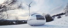 Eco capsule, a small off-the-grid home. Can I get one to plant somewhere in the Alps?