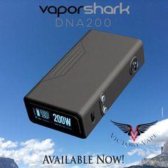 Vapor Shark DNA200W • 10 watt/hour lipo vv/vw – Victory Vape