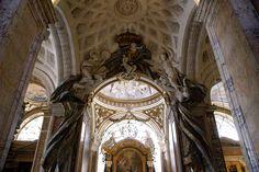Rom, San Luigi dei Francesi, Kapelle des hl. Königs Ludwig IX. (St. Louis of France, chapel of St. Louis IX) | da HEN-Magonza