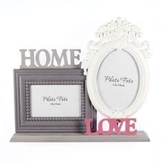 Κορνίζα Επιτραπέζια Home&Love (2 θέσεων) http://www.lovedeco.gr/p.Korniza-Epitrapezia-Home-Love-2-theseon.904833.html