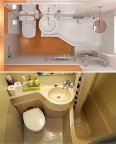 13дизайнерских решений, как превратить маленькую ванную впросторную