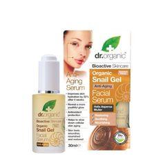 Recensione del siero viso rigenerante alla bava di lumaca Dr. Organic!