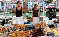 Food & Drink: Weymouth also holds a food festival, here you can try some of the locals seafood such as crab cakes. Love Food, A Food, British Holidays, Local Seafood, Mini Photo, Crab Cakes, Food Festival, Types Of Food, Places To Eat