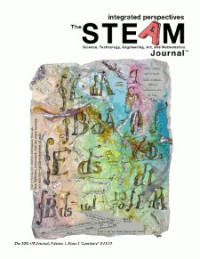The STEAM Journal is a transdisciplinary, international, theory-practice, peer-reviewed, academic, open access, online journal with a focus on the intersection of the sciences and the arts. The STEAM Journal integrates perspectives from a variety of contexts and fields.