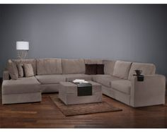 Love this concept. You can reconfigure this sectional in several different ways and all the covers (on all sides are removable to wash. Looks like this is going to be our next purchase.
