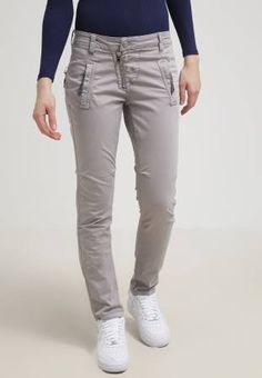 Mos Mosh Valentine Pantalón De Tela Grey pantalones Valentine tela pantalon Mosh Mos Grey CentralModa.eu