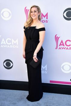 Recording artist Kellie Pickler attends the 52nd Academy of Country Music Awards.